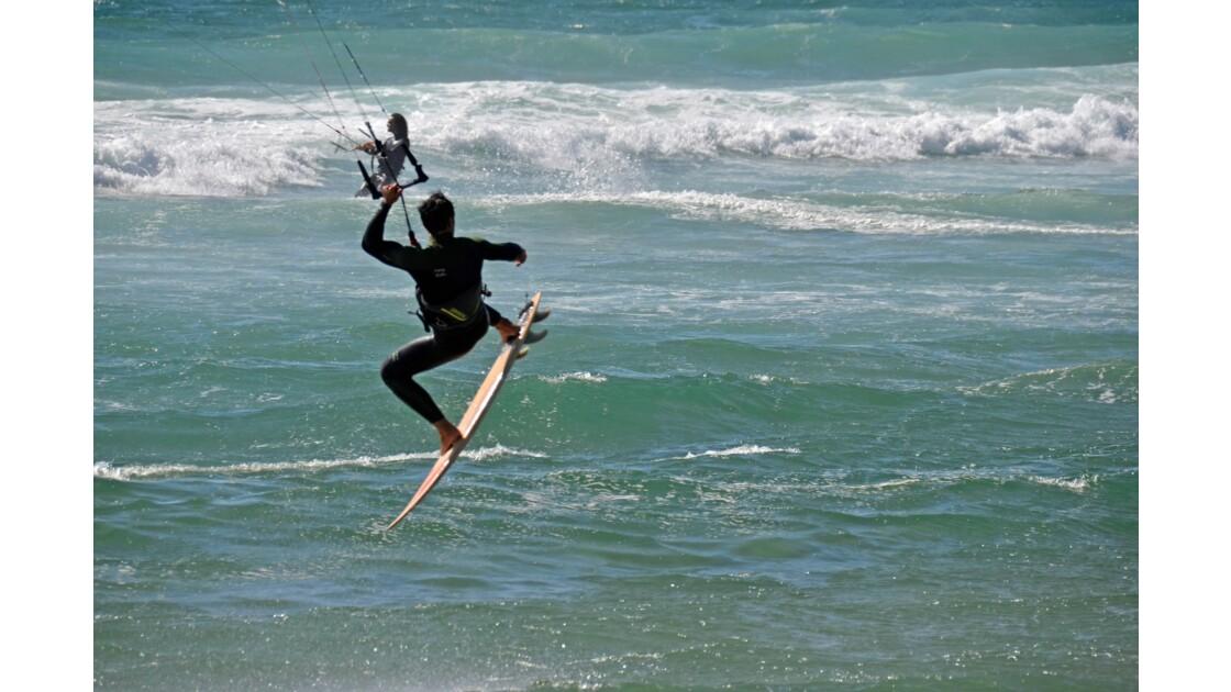 KITE SURFEUSE PLAGE DE GUINCHO
