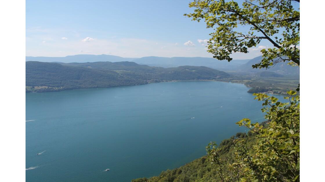 Lac du Bourget depuis LA CHAMBOTTE