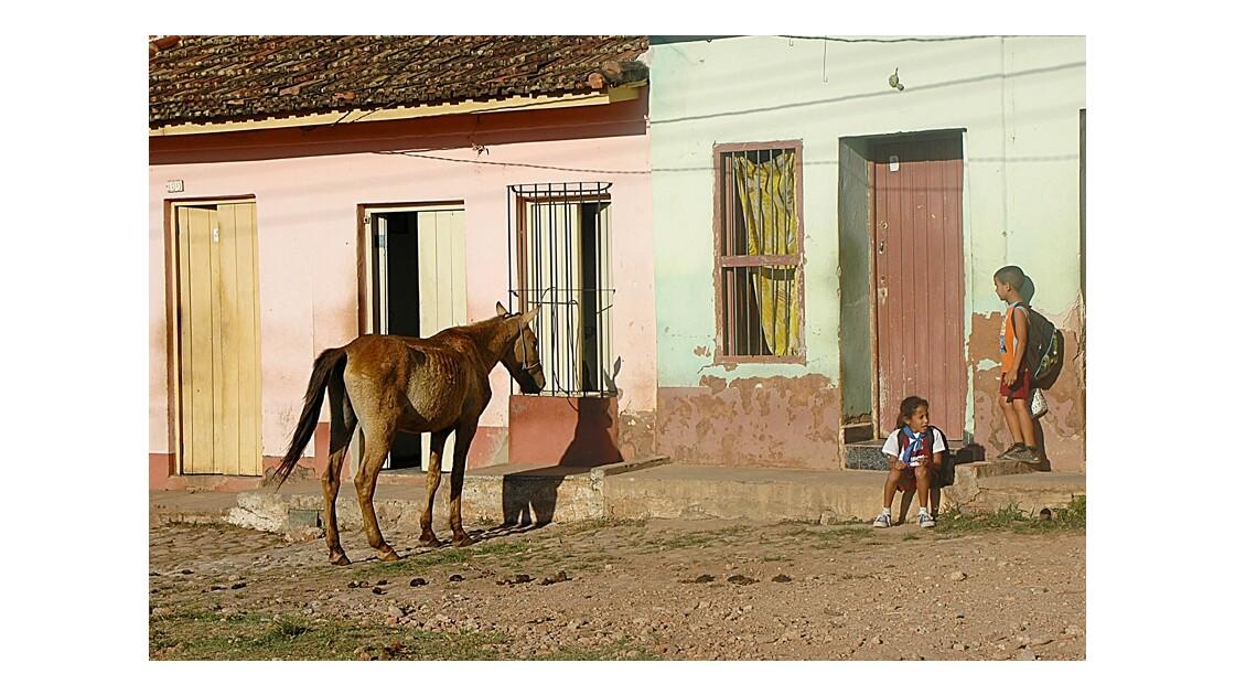 scéne de rue Cuba