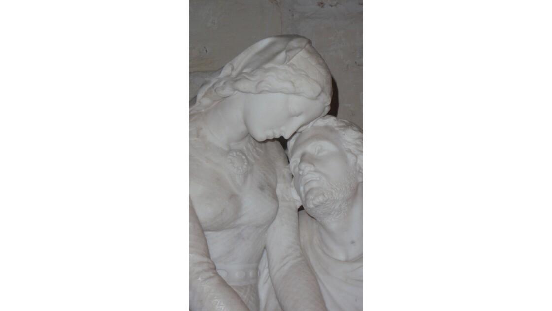 Héloïse et Abelard - Eglise de Vendôme (loir et cher)