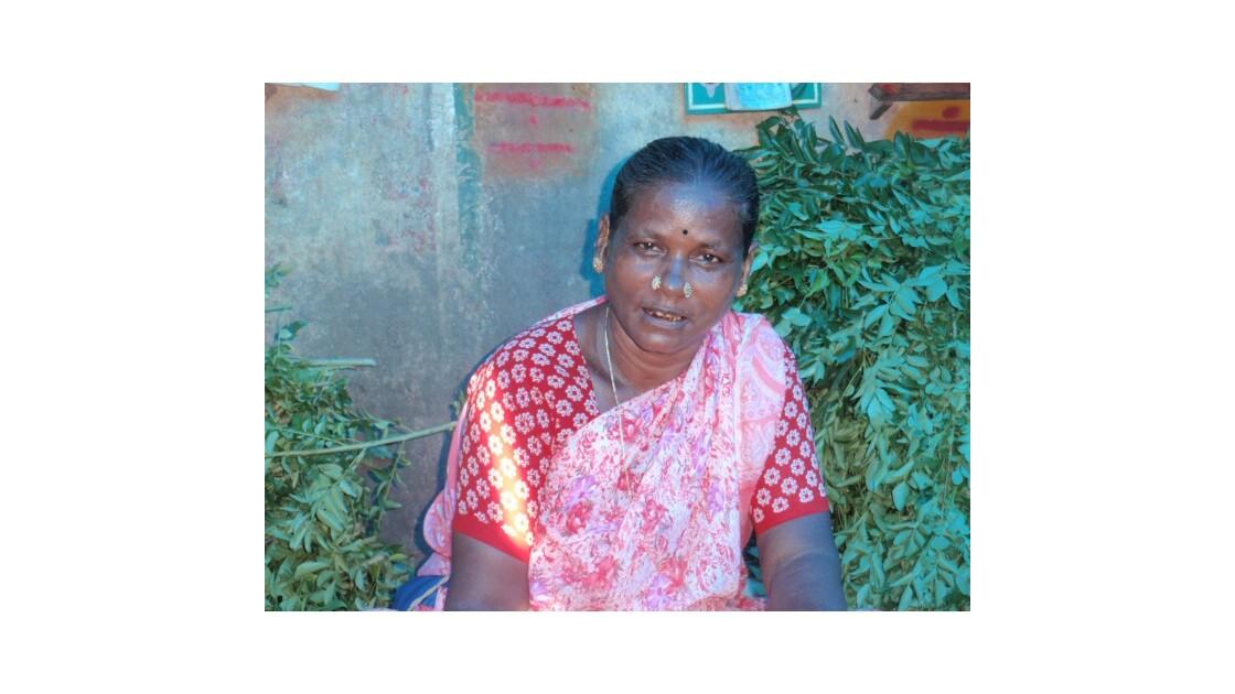 Vendeuse de jasmin (Tamil Nadu)