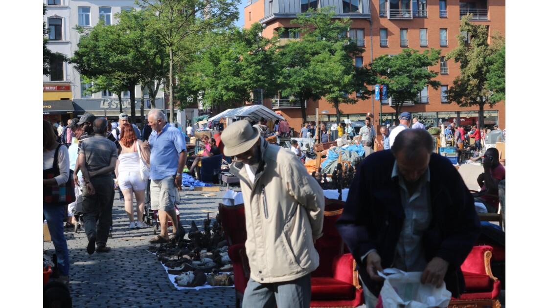 Puces populaires à Bruxelles