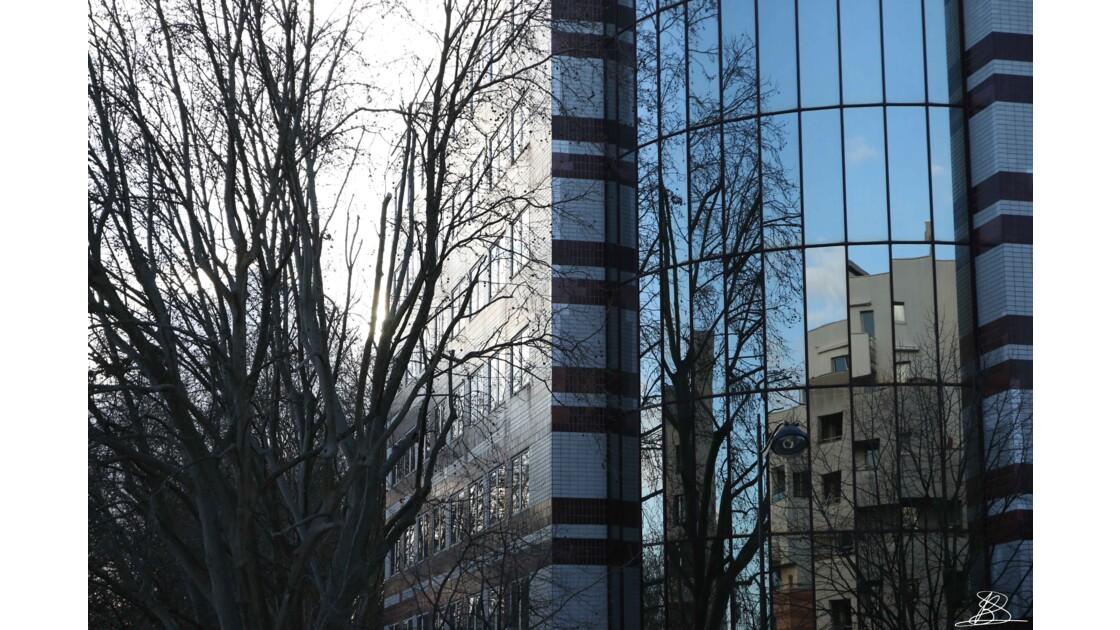 Vue du balcon à Bercy