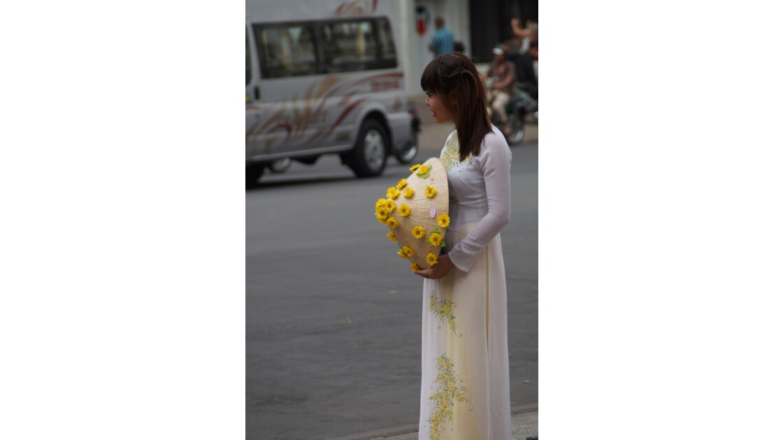 Dans les rues de Saigon