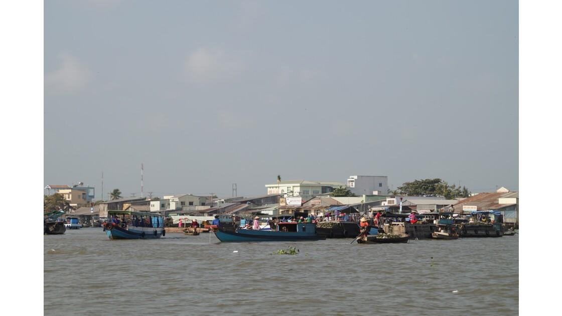 Marché flottant de Cai Rang