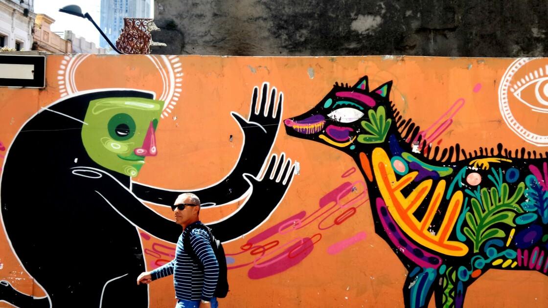 Streetart à Montevideo Uruguay