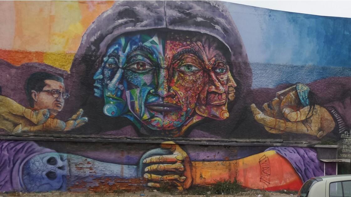 Streetart à Valparaiso, Chili