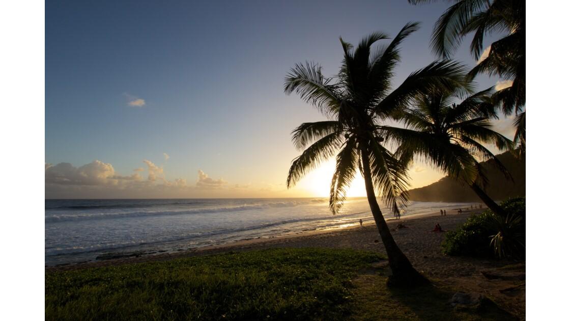 Coucher de Soleil sur Grand Anse