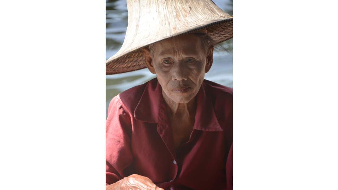 La dame du marché flottant