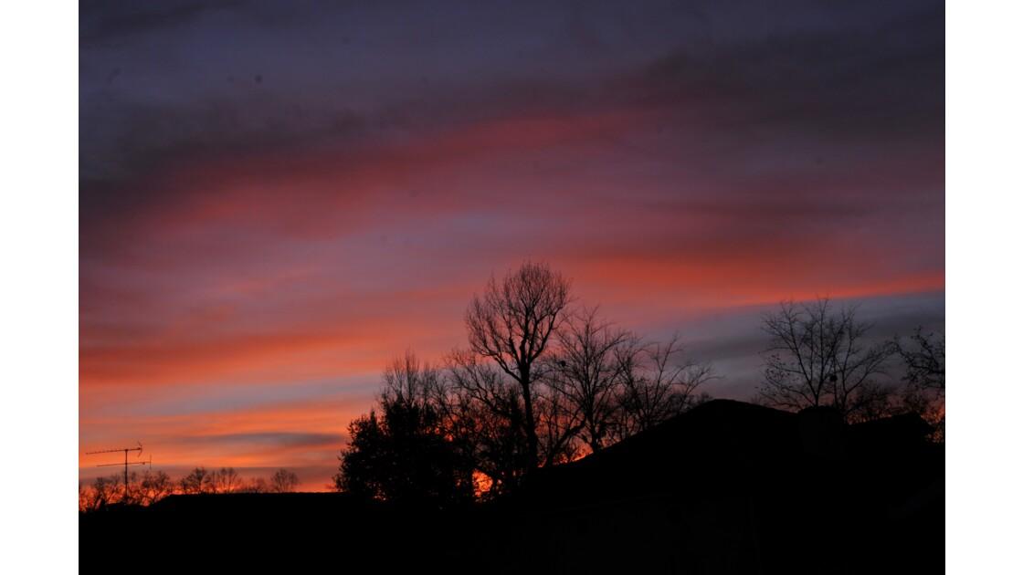 un ciel bien coloré