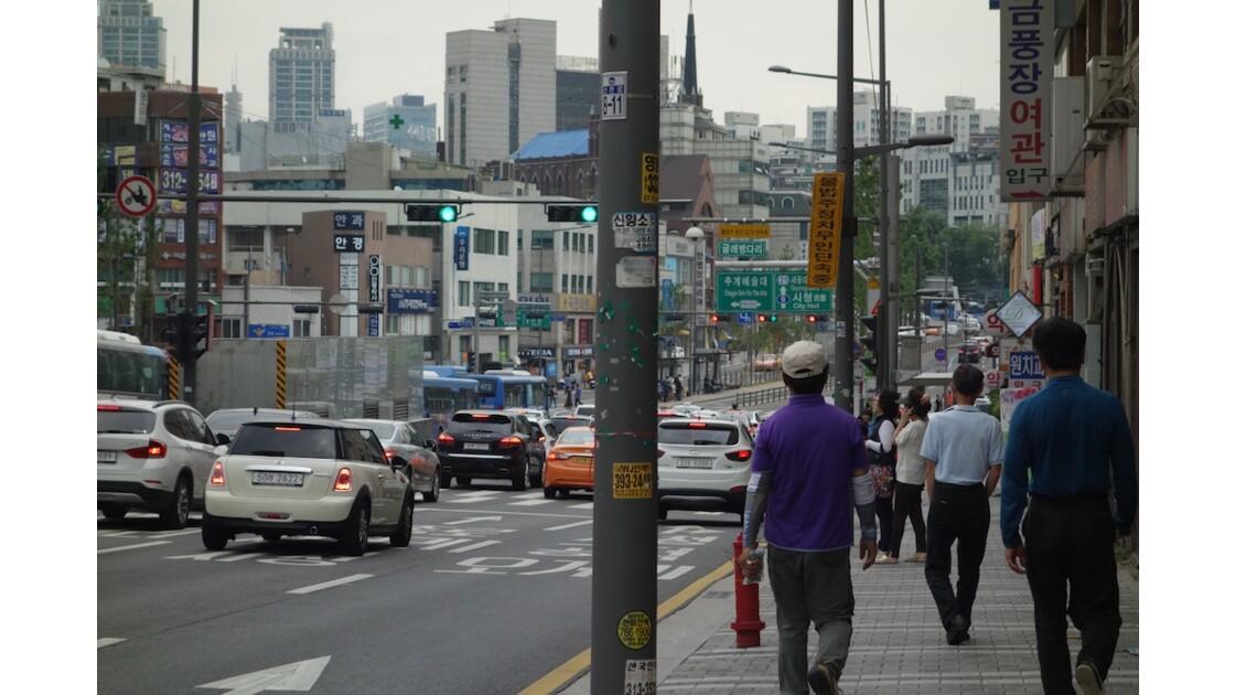 Visite à Séoul