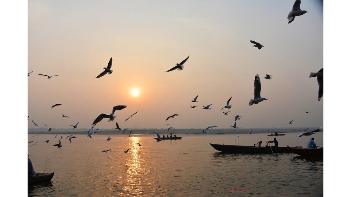 Matin à Varanasi