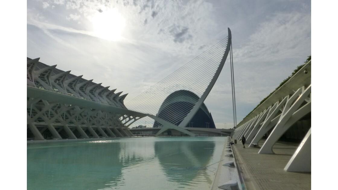 Le pont de l'Assut de l'Or à Valence