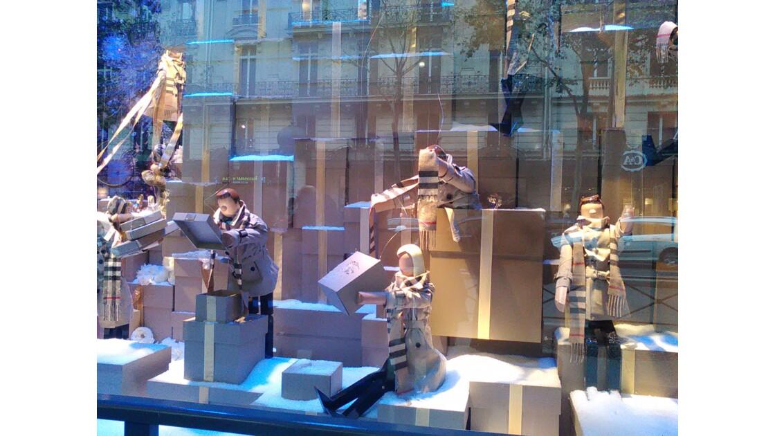 Vitrines de Noel, Thierry Rousseau, Paris