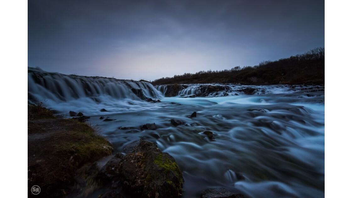 Brúarfoss waterfall