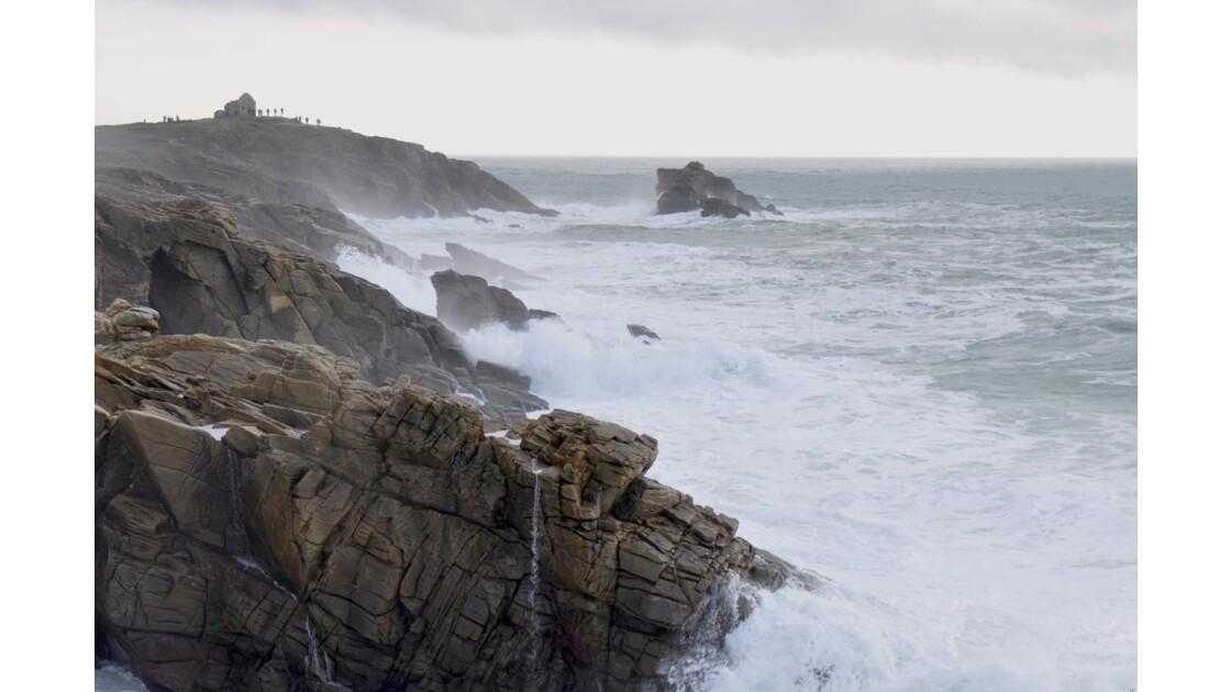 Côte sauvage de la presqu'île de Quiberon