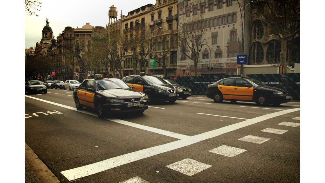 Les taxis de Barcelone