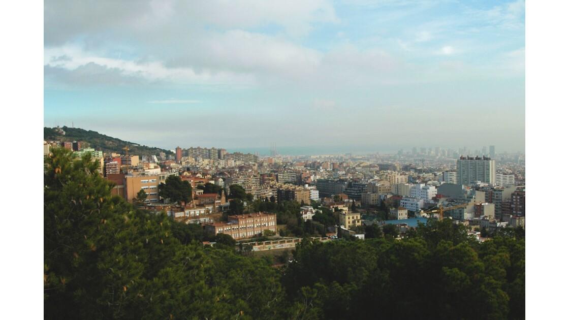 Les toits de Barcelone