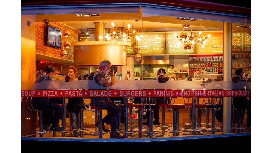 Fast food à Edinbourg