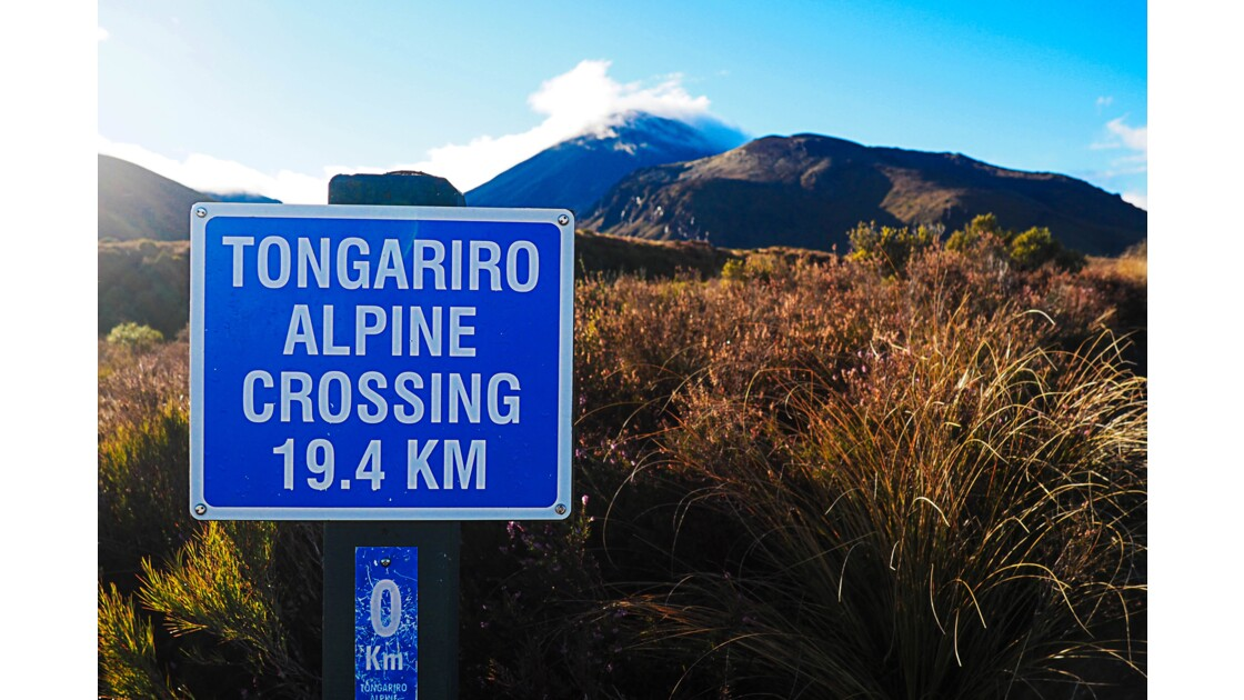 Tongariro Alpine crossing, Nouvelle-Zélande