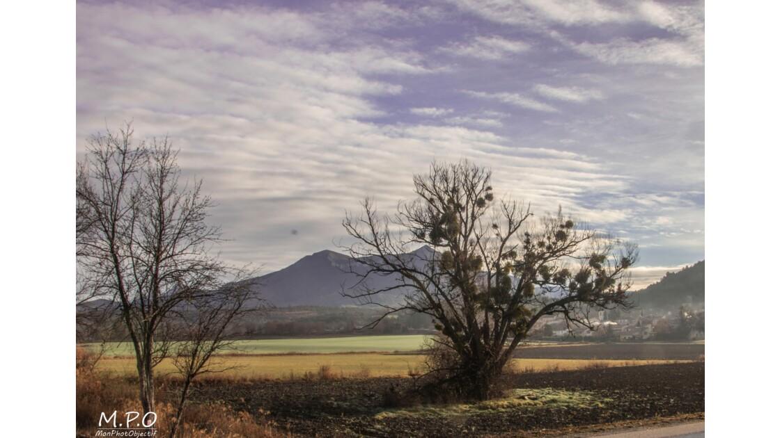 Nuages et brouillard sur le pays Dignois