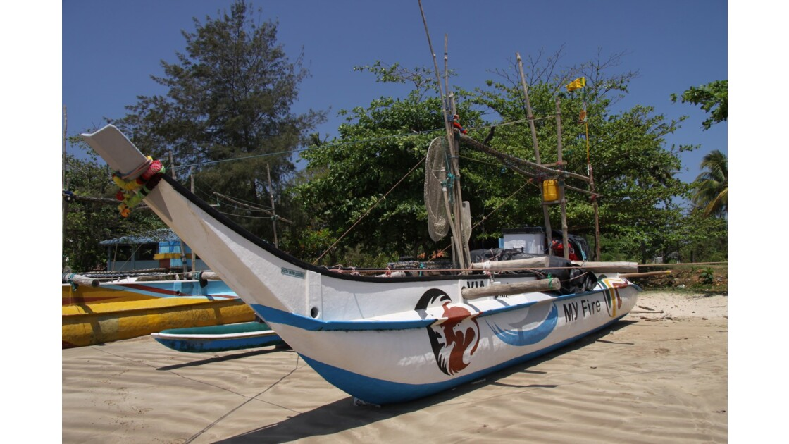 Pêcheurs du sud du Sri Lanka