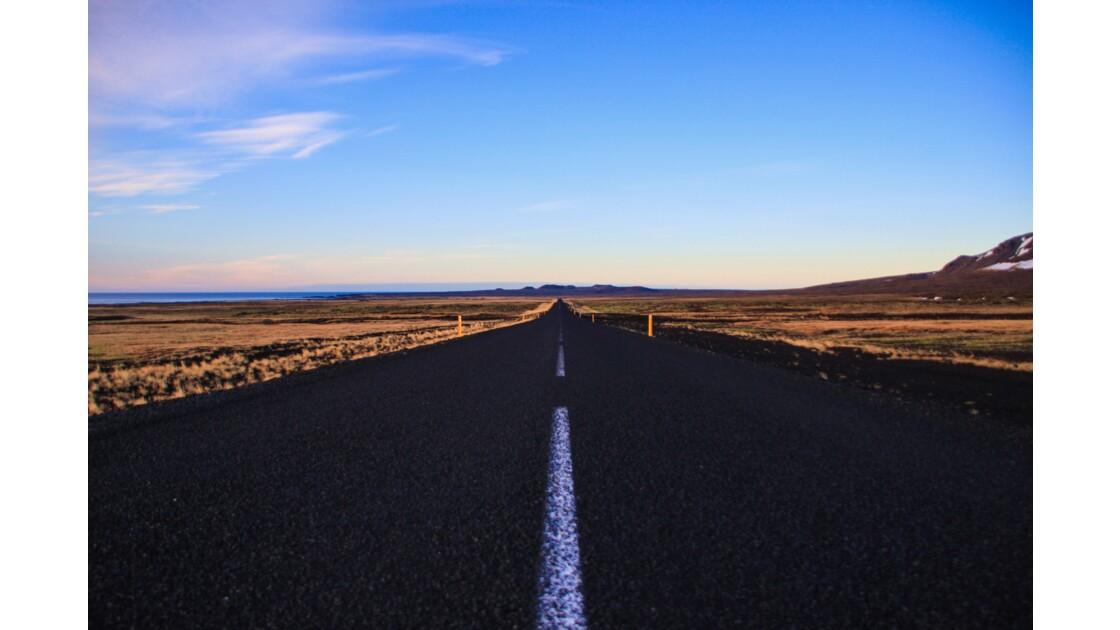 la route vers l'infini