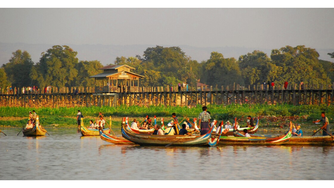 Pont U Bein, Mandalay