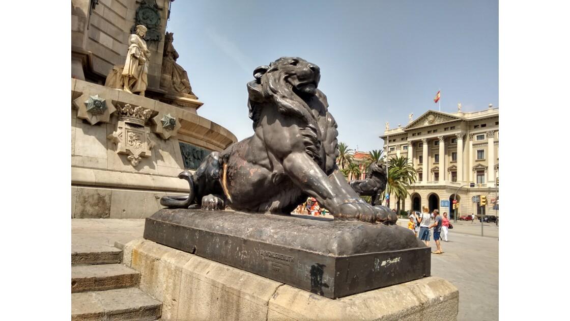 Le lion du Colomb
