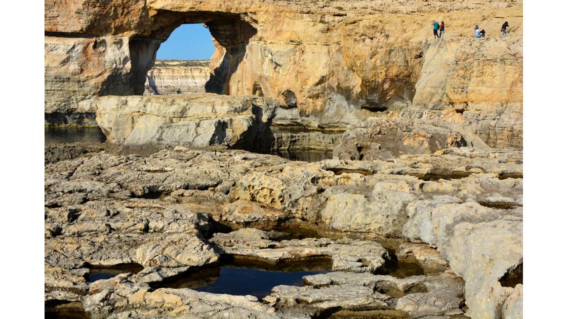 Gozo azur Window Malte