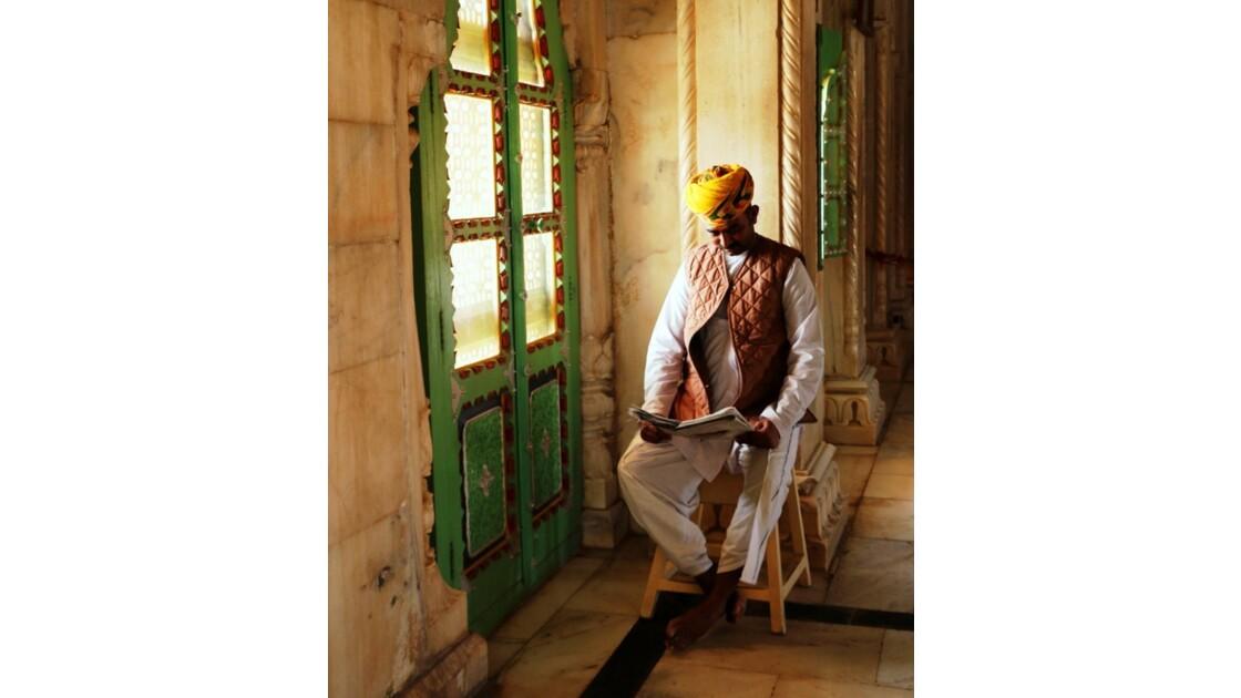Le gardien de Jaswant Thada