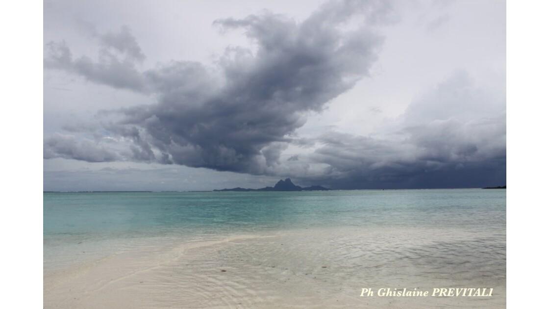 Vue sur Bora Bora