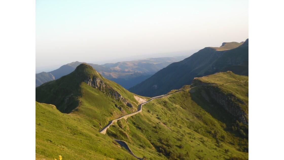Dans les environs du Puy-Mary dans le Cantal