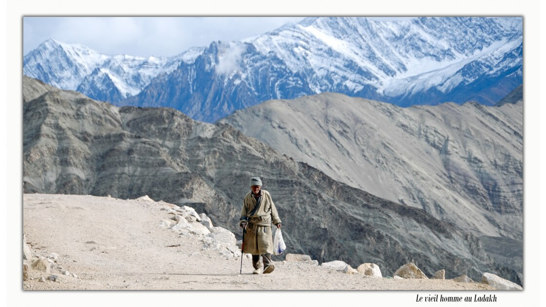 Le vieil homme au Ladakh