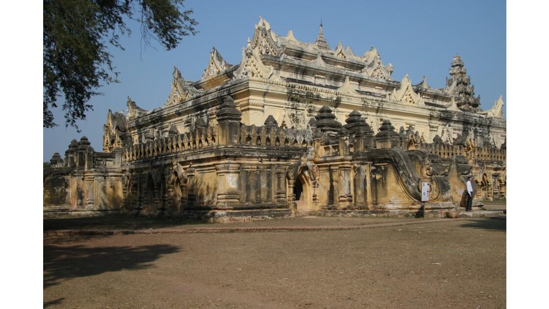 Monastère Mae Nu à Ava
