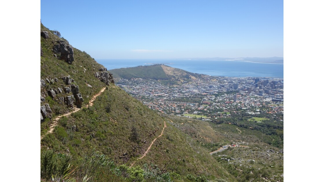 Afrique du Sud Cape Town Montée  de Table Mountain 1