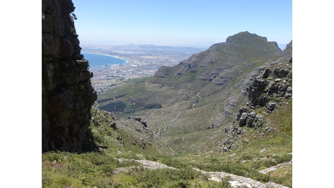 Afrique du Sud Cape Town Montée  de Table Mountain 12