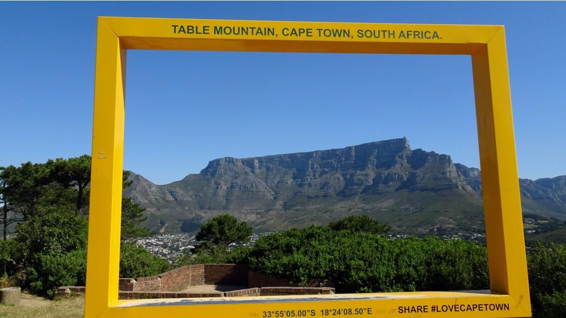 Afrique du Sud Cape Town Table Mountain 1