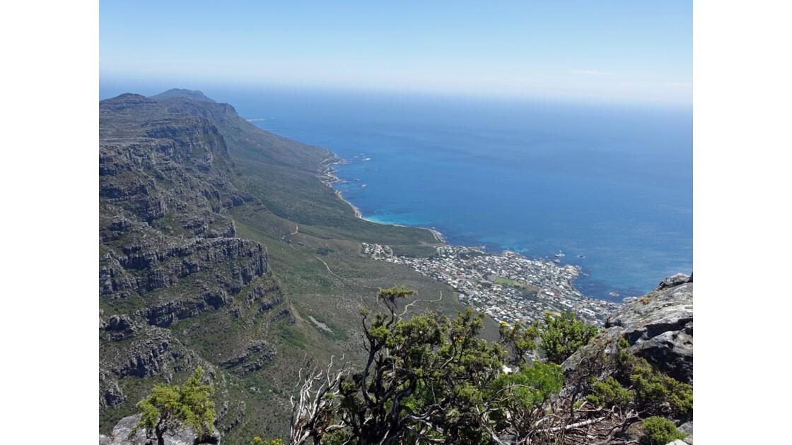 Afrique du Sud Cape Town vue de Table Mountain 1