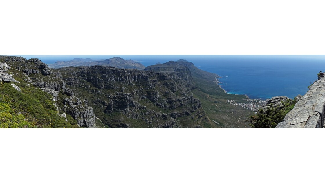 Afrique du Sud Cape Town vue de Table Mountain 2