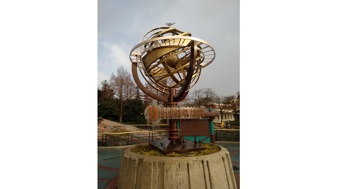 Le globe de discovery