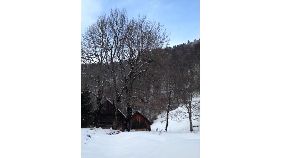 Le refuge montagnard
