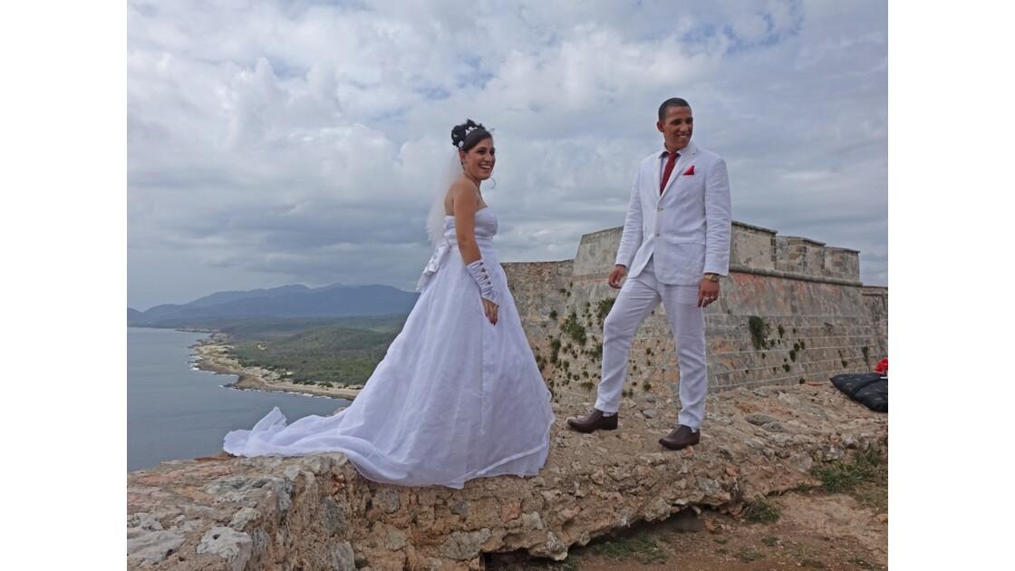 Cuba Santiago Castillo d'El Moro Just Married