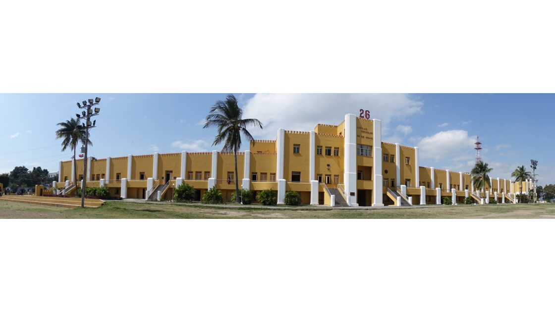 Cuba Santiago Caserne Moncada 1