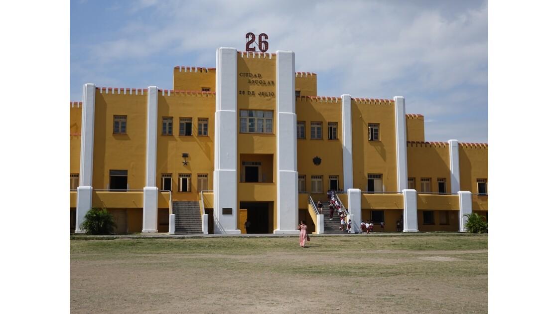 Cuba Santiago Caserne Moncada 3