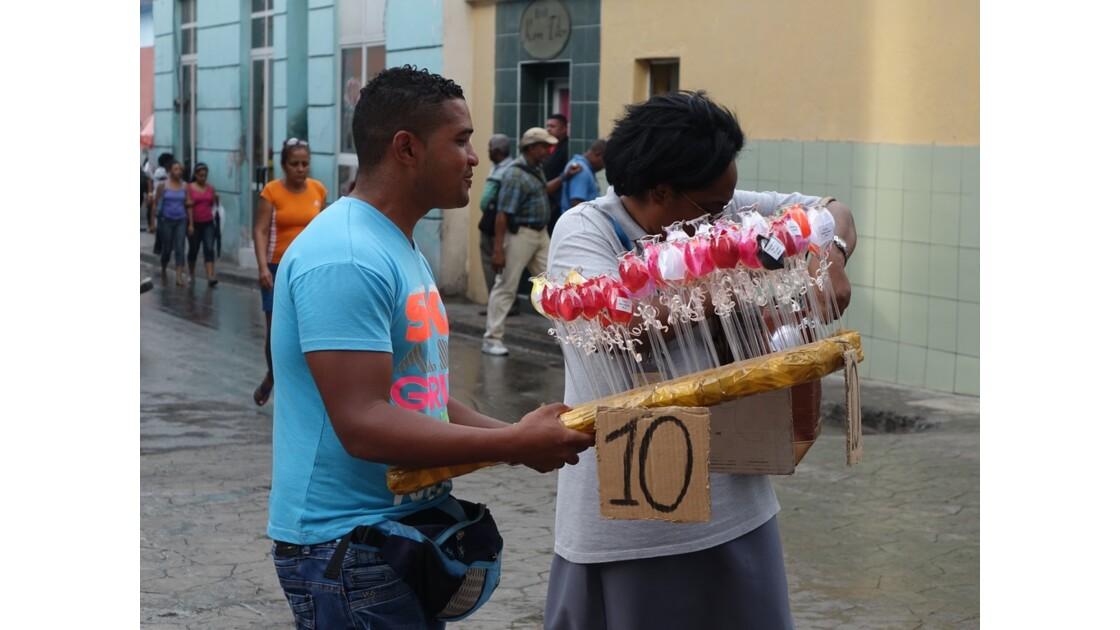 Cuba Santiago Rue piètonne Enramadas 3