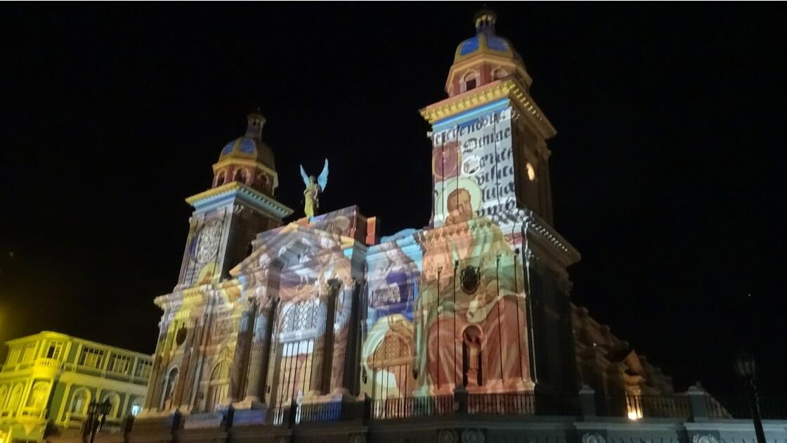 Cuba Santiago illuminations de la Cathédrale 3
