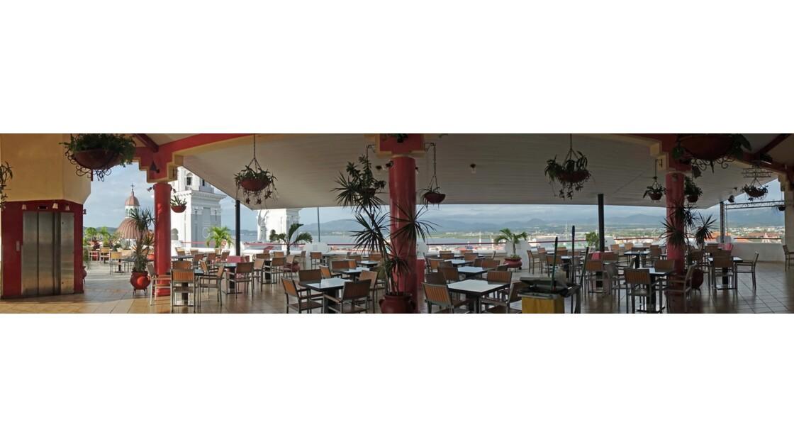 Cuba Santiago Sunrise sur la terrasse du Casa Granda 2