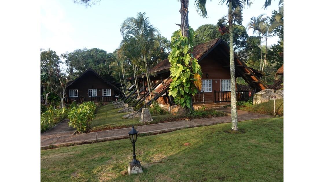 Cuba  bungalows  du Parc de La Mensura