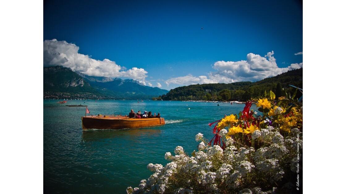 Croisère sur le Lac d'Annecy
